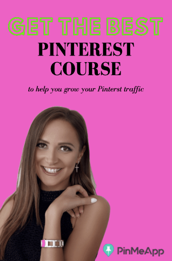get the best pinterest course to help you grow pinterest traffic