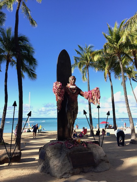 Duke Stautue Hawaii All the stuff I care about