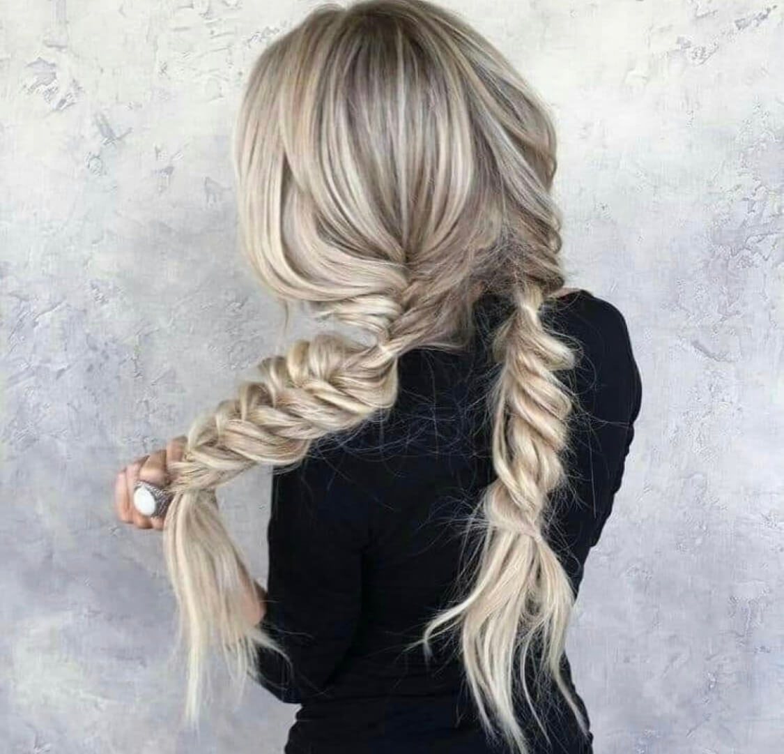 blonde hairstyles long