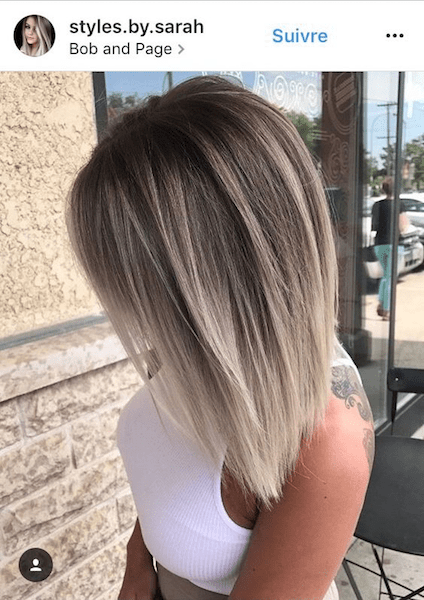 Ideas To Go Blonde Short Icy Ombre
