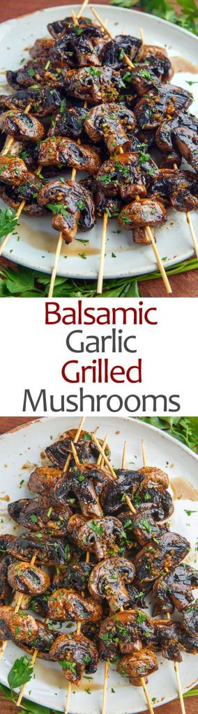 Barbecue Party mushrooms