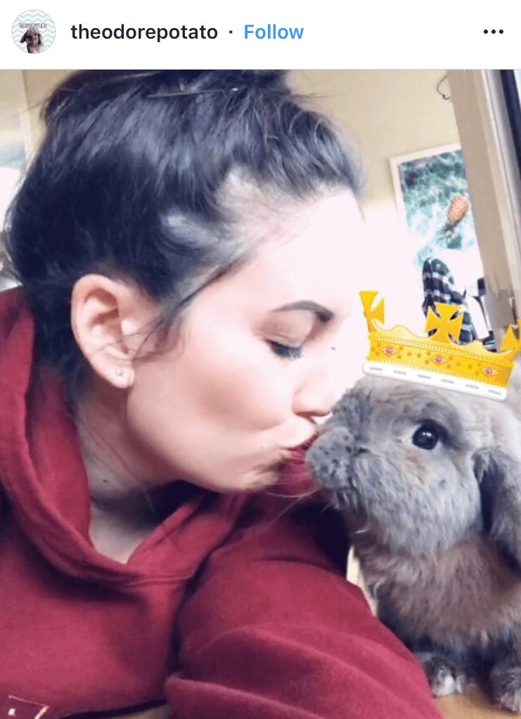 bunny mum bunny mama bunny mummy allthestufficareabout theodorepotato