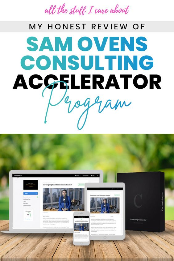 consulting accelearator sam ovens discount free trial