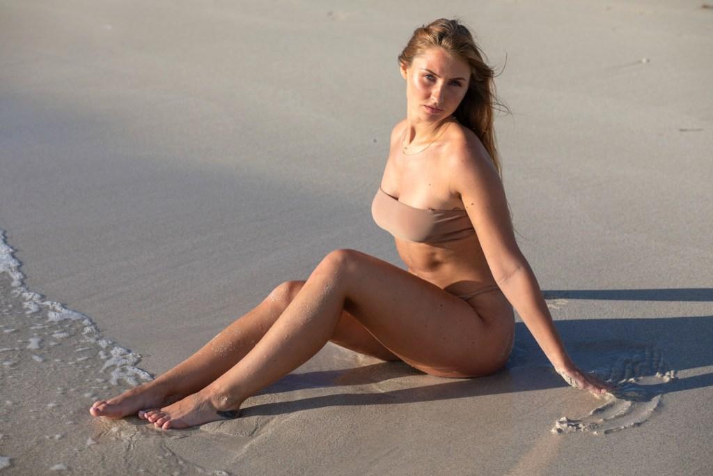 beautiful beach photoshoot