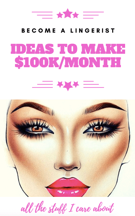 become a lingerist ideas to make 100k-month