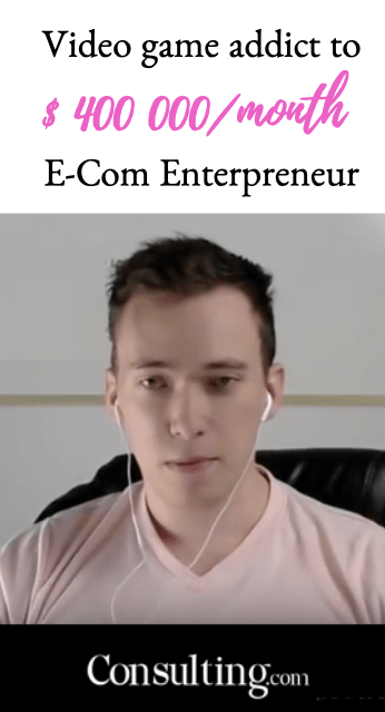 connor Shelefontiuk sam ovens scam consulting video game addict enterpreneur