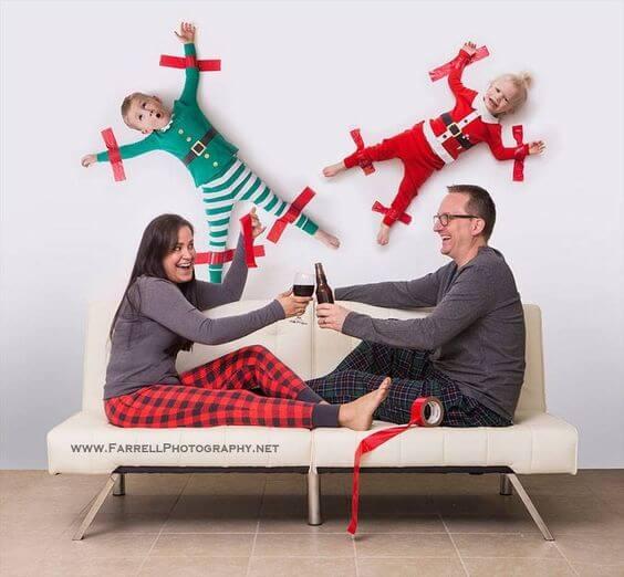 family christmas photo