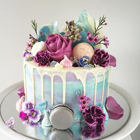 Swell 24 Epic Macaroon Birthday Cake Ideas To Inspire Your Next Birthday Funny Birthday Cards Online Eattedamsfinfo