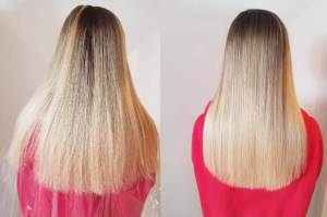 healthy silky hair keratin treatment