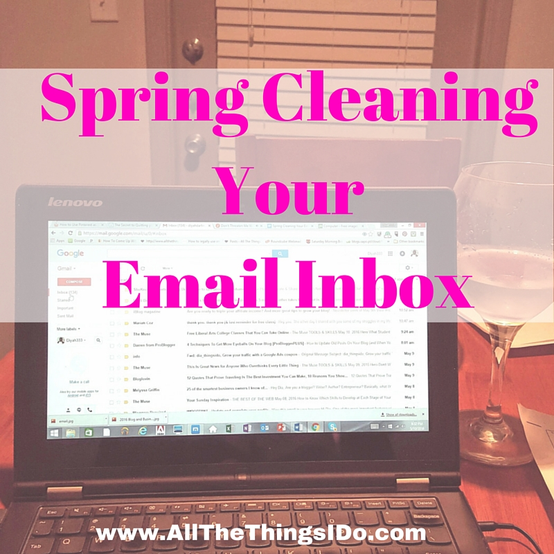 Spring Cleaning Your Email Inbox