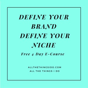Define Your Brand Define Your Niche Email Course