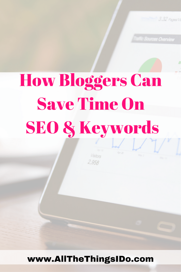 How Bloggers Can Save Time On SEO & Keywords