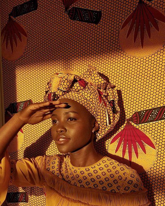 Image result for lupita nyong'o head wrap