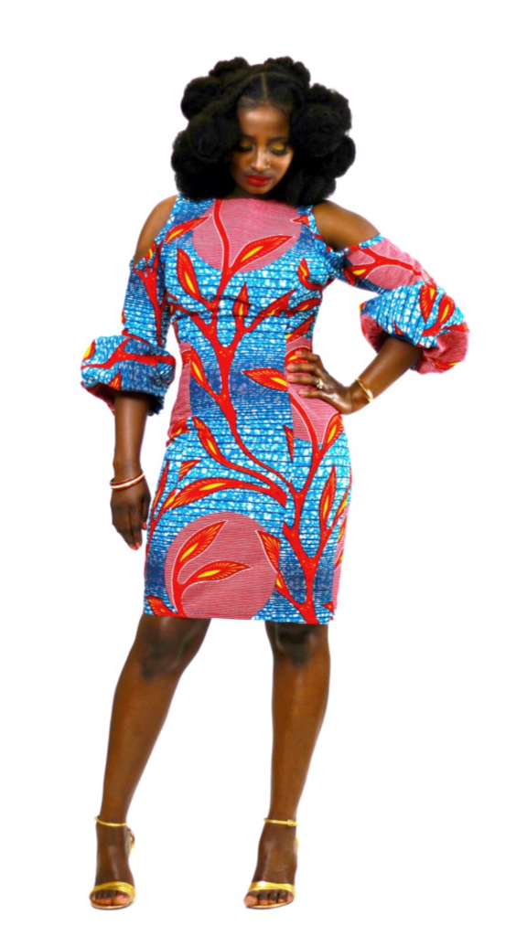 Ankara Product Of The Day Ohemaa Aba Dress By Akese Stylelines