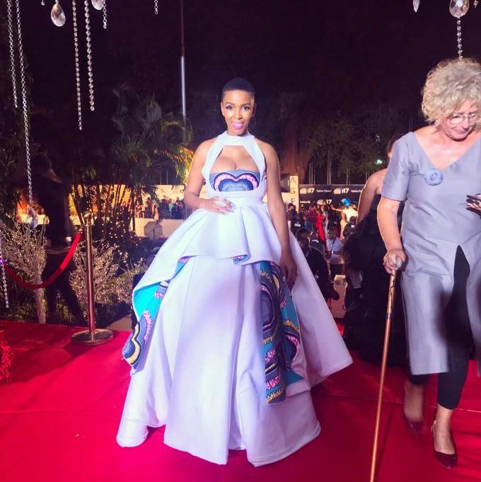 Award Show: Nhlanhla Nciza At Abryanz Style & Fashion