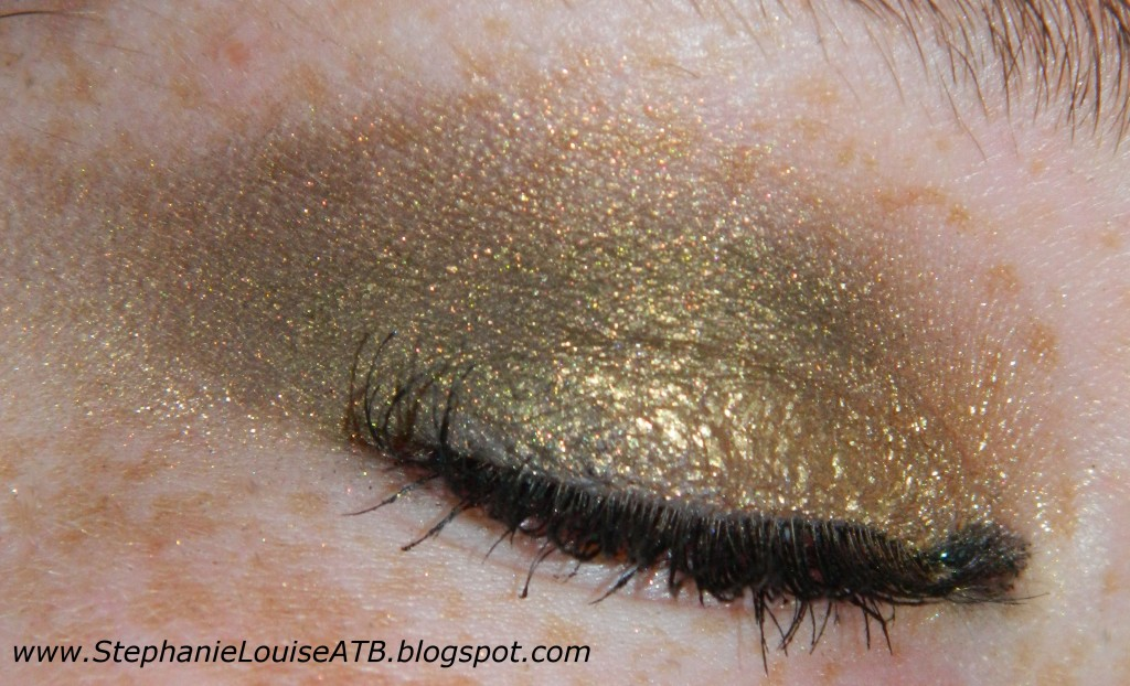 Maybelline Color Tattoo in Bold Gold & The Body Needs Aspen Gold