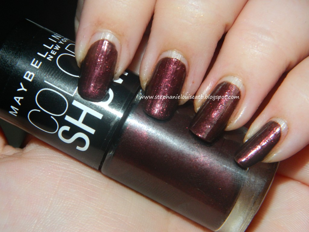 Maybelline Limited Edition Color Show Nail Polish Swatches & Review Fall 2012