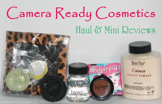 Camera Ready Cosmetics Haul featuring Ben Nye, Sugarpill, & More!