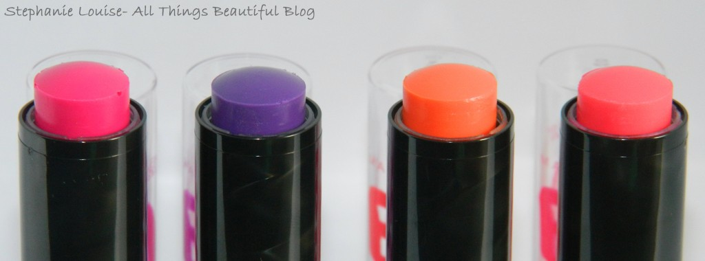 NEW Maybelline Electro Baby Lips Swatches & Review