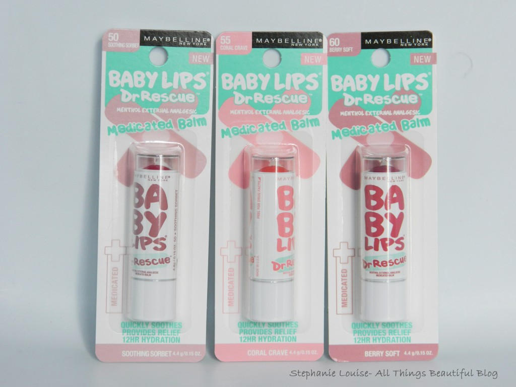 Maybelline Dr. Rescue Medicated Baby Lips Review + Lip Swatches