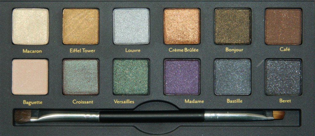 Cargo Let's Meet in Paris Palette Swatches & Review from All Things Beautiful XO