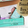 Beauty Box 5 for August 2014 featuring Nanacoco, Novex, & More!