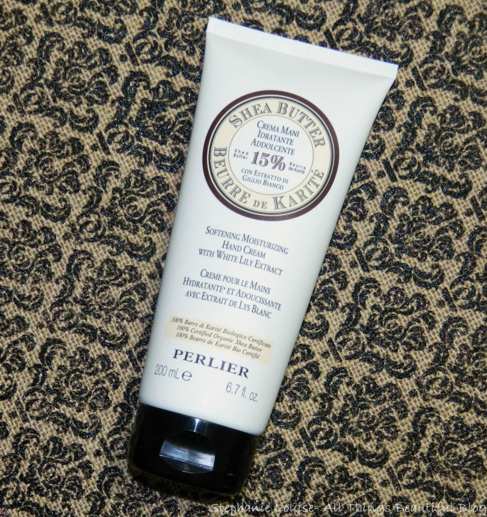 Perlier Softening Moisturizing Hand Cream with White Lily Extract Review