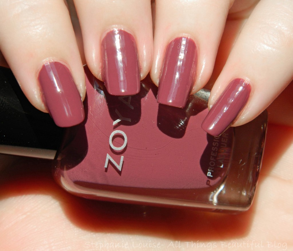 Zoya Naturel Deux Collection Swatches & Review from All Things Beautiful XO
