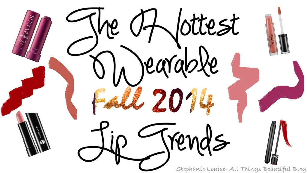 The Hottest Wearable Fall 2014 Lip Trends! + Lindt HELLO!