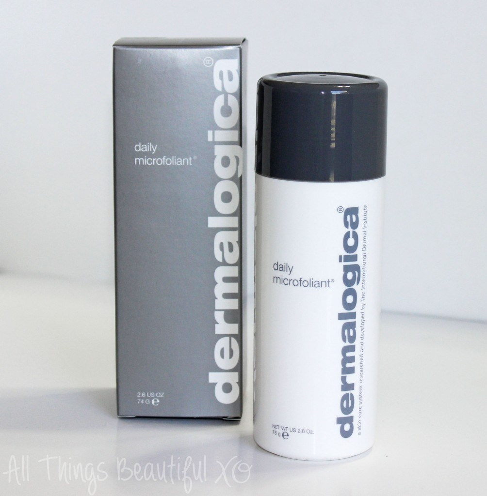 Dermalogica Daily Microfoliant Review from All Things Beautiful XO