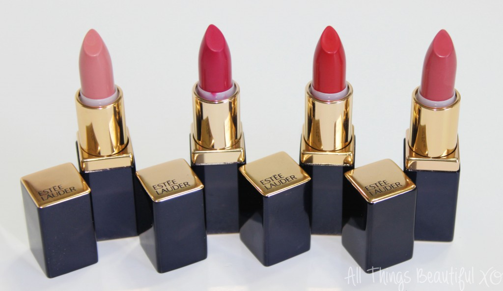 Estee Lauder Pure Color Envy Sculpting Lipstick Collection for Holiday 2014 Swatches & Review from All Things Beautiful XO