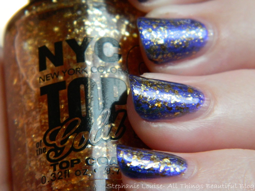 NYC Nail Polish in Top of the Gold Swatches & Review