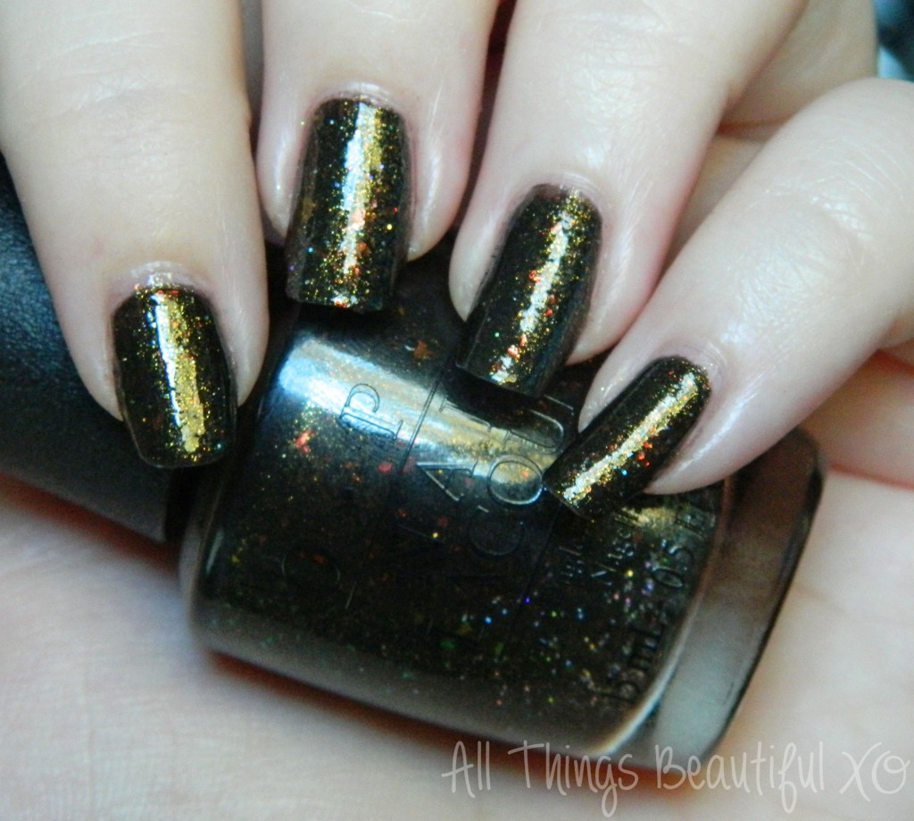 Review & swatches of the mystery polish OPI Frog in My Throat aka the famous 212-Sephora! from All Things Beautiful Xo
