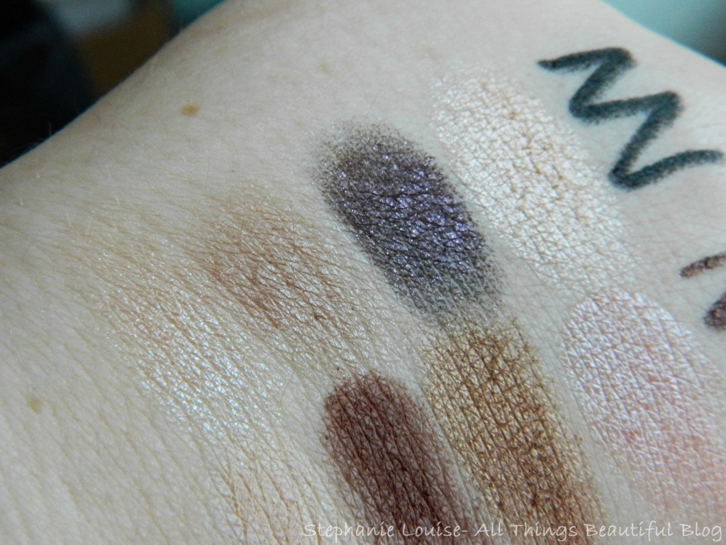 Stila Not So Nude Palette Swatches, Review + Favorite Look