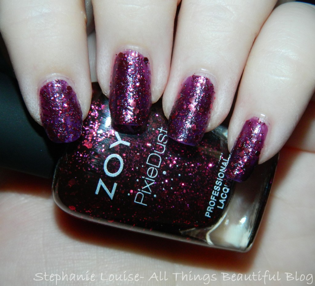 Zoya Fall 2014 Pixie Dust Trio Swatches & Review of Noir, Arianna, + ...