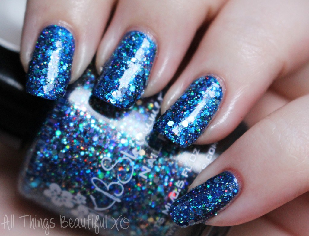 Too Cold To Hold from the KBShimmer Holiday Nail Polishes for Winter 2014 Swatches & Review on All Things Beautiful XO