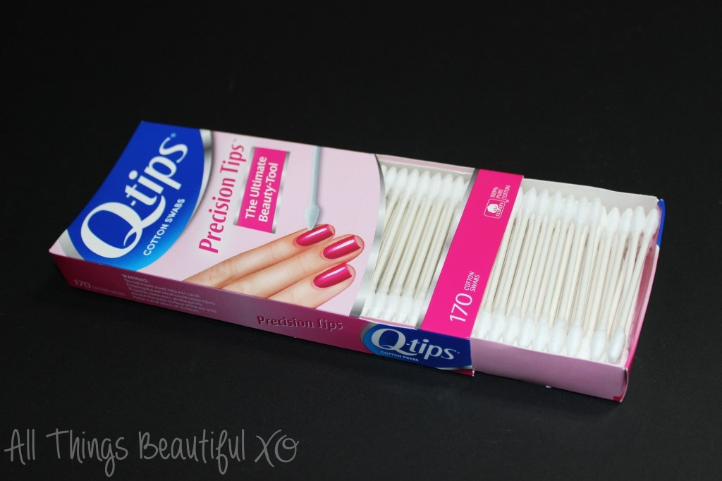 My Q-Tip Precision Tip Manicure Routine from All Things Beautiful XO