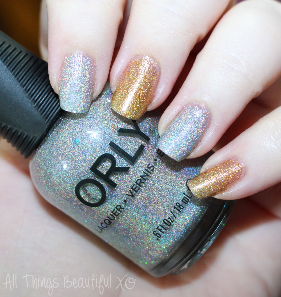 Orly Mirrorball Amp Bling Holo Polishes Amp Houndstooth Decals All Things Beautiful Xo