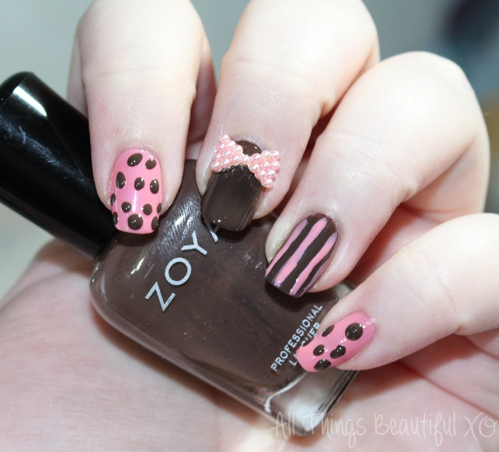 Girly Nail Art: My Monthly Stunning Nails Girly Nail Art + Subscription