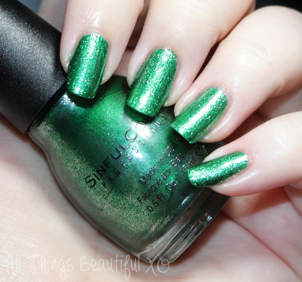 Sinful Colors Nail Polish Shades for Winter & Holiday 2014 Swatches ...
