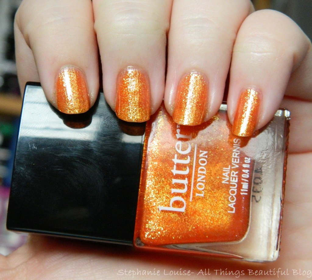Butter London Spring 2014 Chuffed Swatches & Review from All Things Beautiful XO