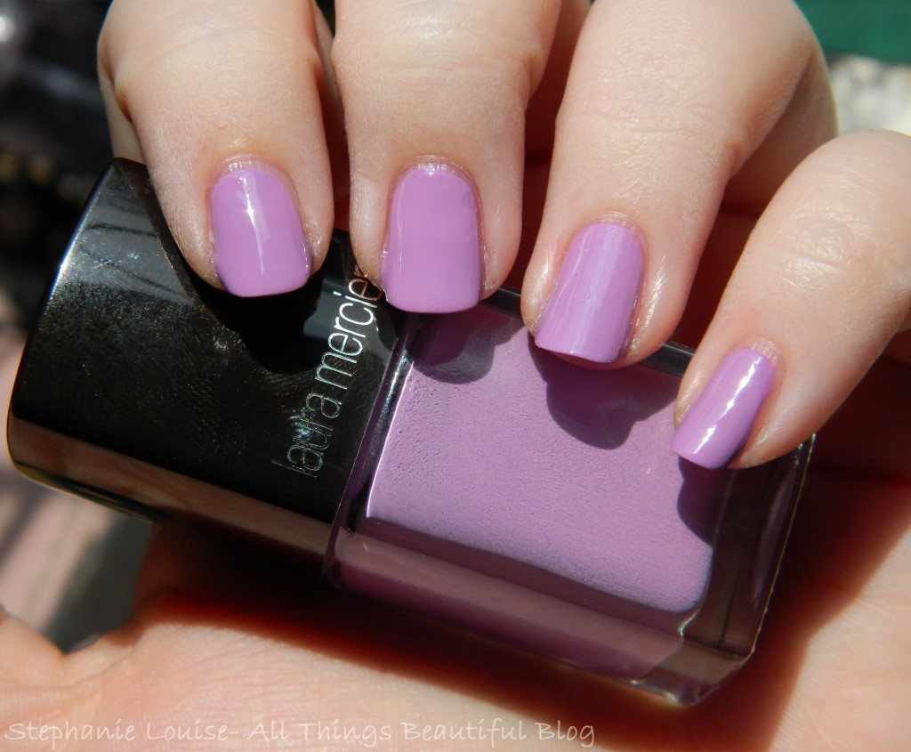 Laura Mercier Nail Lacquer in Reckless Swatches & Review from All Things Beautiful XO
