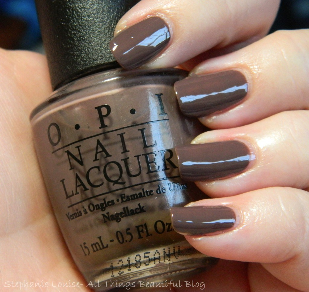 OPI You Don't Know Jacques! Swatches from All Things Beautiful XO