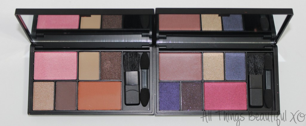 Sleek Eye & Cheek Palettes in Dancing Til Dusk & See You at Midnight Swatches & Review from All Things Beautiful XO