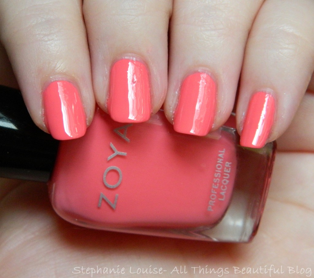 Zoya Bubbly Collection Summer 2014 Swatches & Review - This is Wendy from All Things Beautiful XO