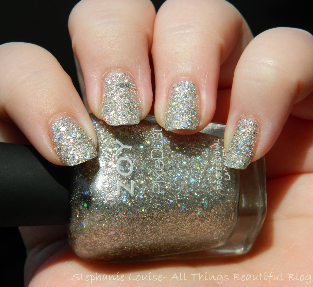 Zoya Cosmo Pixie Dust Swatches & Review from All Things Beautiful XO