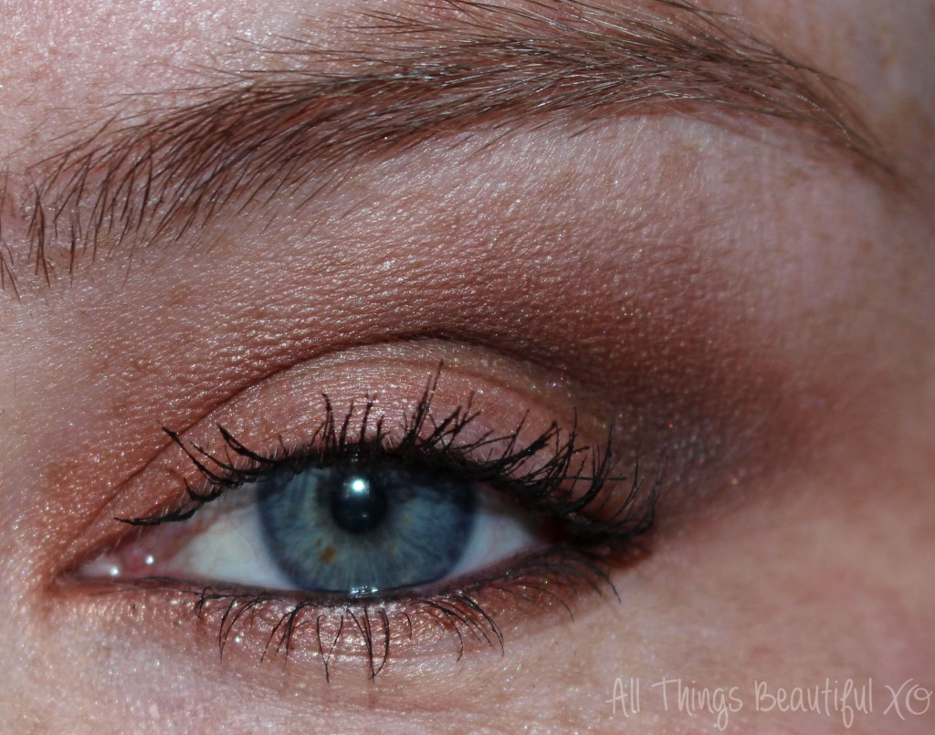 Beauty ADDICTS Naturally Pretty Makeup Look & Reviews! Rose Gold, pink, & just so pretty! This eyeshadow look really makes my blue eyes pop too! from All Things Beautiful XO