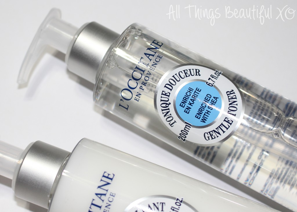 L'Occitane Shea Skincare- Cleansing Oil, Milk, & Toner Reviews