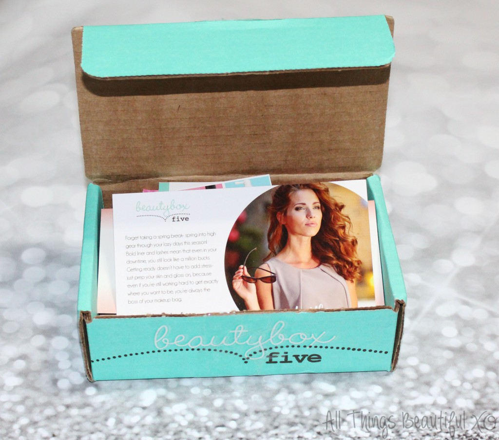 Beauty Box 5 BB5 March 2015 Unboxing brands like Nanacoco, Styli-Style, & more! A beauty subscription with a wide variety of makeup, haircare, skincare, & more! from All Things Beautiful XO