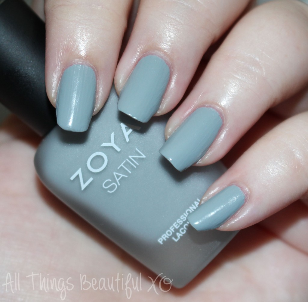 This is Zoya Tove from the Zoya Naturel Satin Nail Polish Collection for 2015 Swatches & Review on All Things Beautiful XO